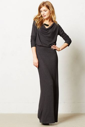 Bordeaux Cavatina Maxi Dress - Lyst