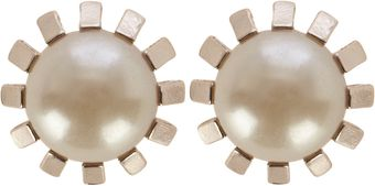 Coast Abigail Pearl Earrings - Lyst