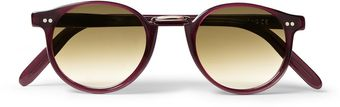 Cutler & Gross Roundframe Acetate Sunglasses - Lyst