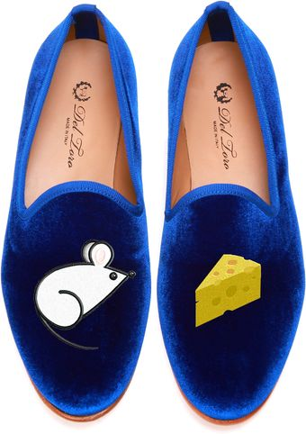 Del Toro Mouse and Cheese Loafer - Lyst
