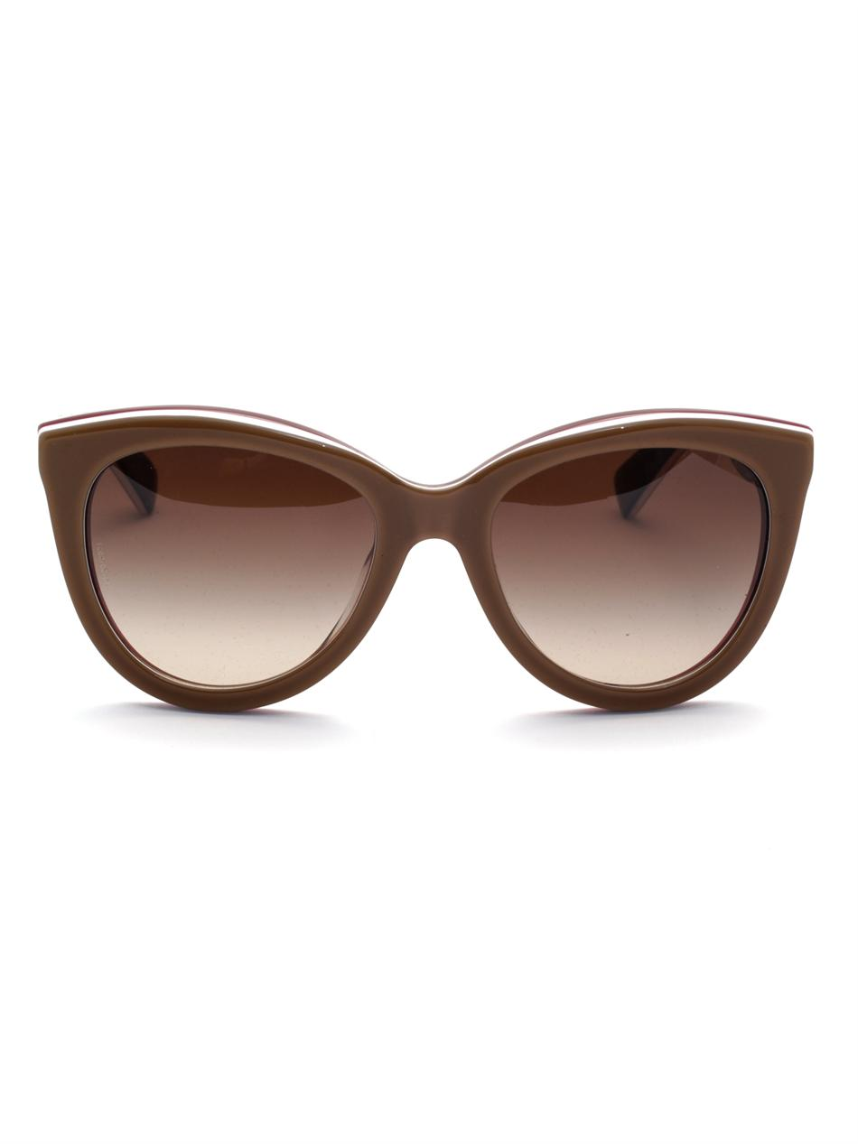28ddb9479d5 Dolce Gabbana Oversized Cat Eye Sunglasses