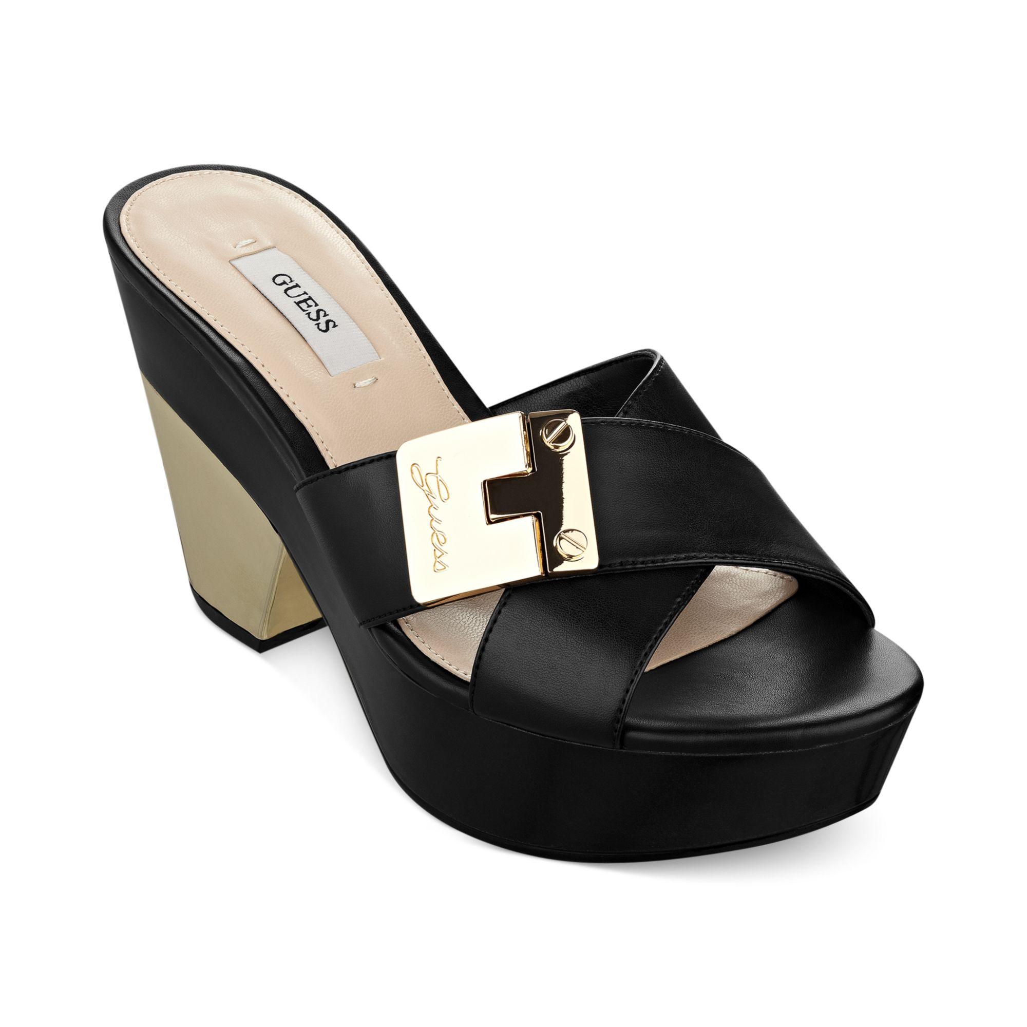 Guess Flat Shoes Black