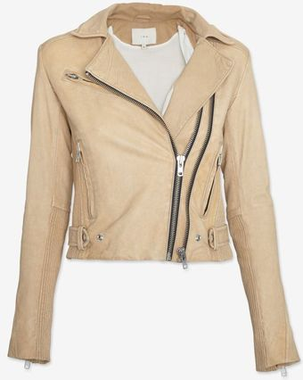 Iro Double Zip Leather Jacket - Lyst