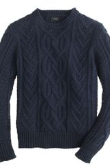 J.Crew Cotton Sweater - Lyst