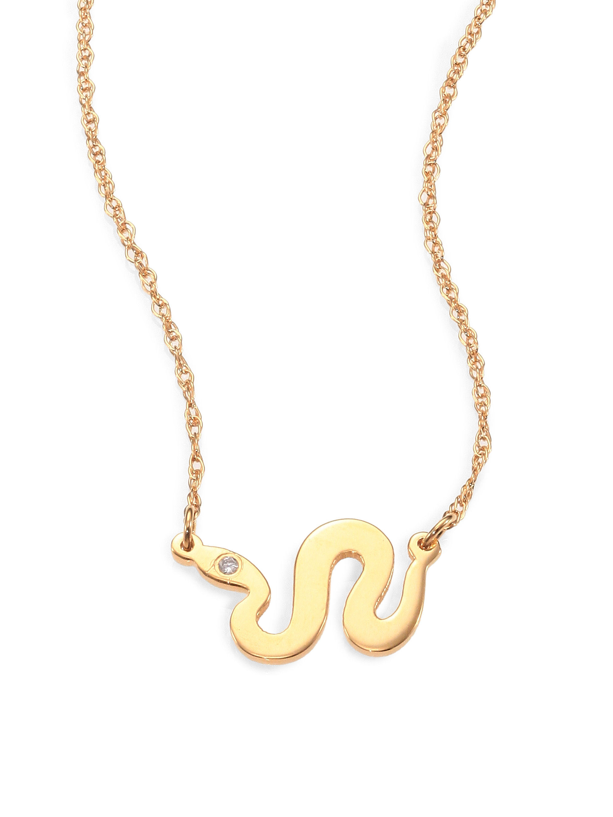 Jennifer Zeuner Alves Necklace Serpent Jewelry