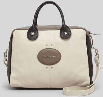 Longchamp Satchel Tri Quadri Colorblock - Lyst