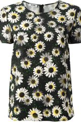 Moschino Cheap & Chic Daisy Print T-Shirt - Lyst