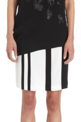 Narciso Rodriguez Embroidered Sequin Blouse - Lyst