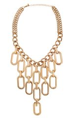 Piper Strand Chain Drop Statement Necklace - Lyst
