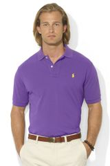 Polo Ralph Lauren Classic Fit Short Sleeved Cotton Mesh Polo - Lyst