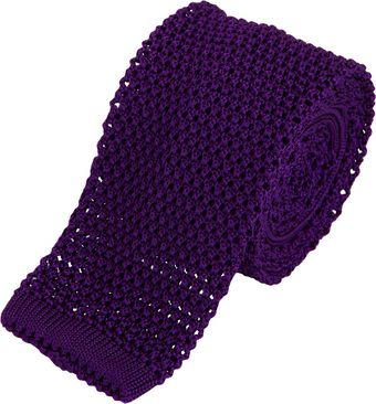Richard James Square Knit Tie - Lyst