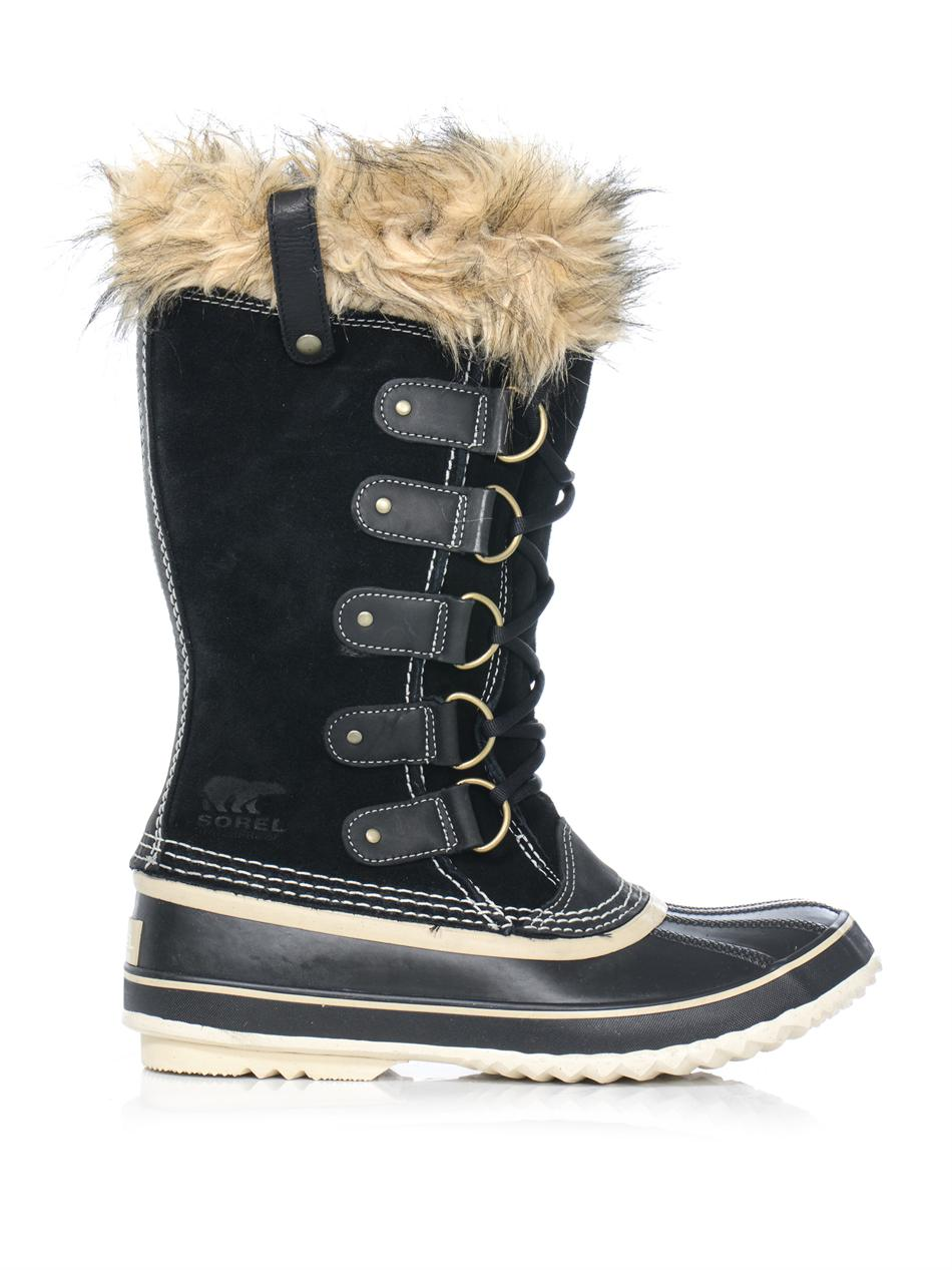 Lyst Sorel Joan Of Arctic Boots In Black