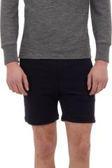 Thom Grey Long Sleeve Polo - Lyst