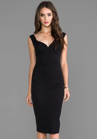 Black Halo Ally Sheath Dress in Black - Lyst