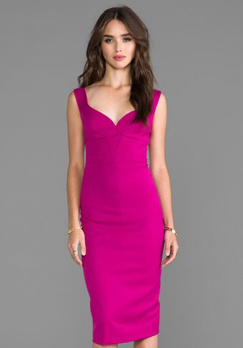 Black Halo Ally Sheath Dress in Fuchsia - Lyst
