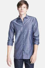 Burberry London Halesforth Tailored Fit Dress Shirt - Lyst