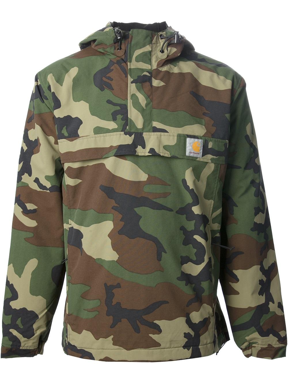 176de91b6d5 Carhartt Nimbus Camouflage Jacket in Green for Men - Lyst