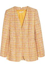 Carven Boucle tweed Jacket - Lyst