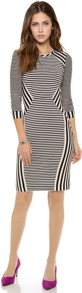 Diane Von Furstenberg Havens Stripe Dress - Lyst