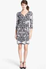Diane Von Furstenberg New Julian Two Silk Wrap Dress - Lyst