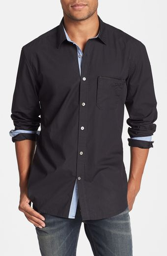 Diesel Mirtilla Long Sleeve Sport Shirt - Lyst