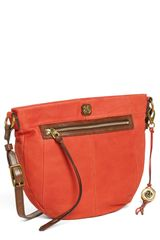 Elliott Lucca Faro Leather Crossbody Bag - Lyst