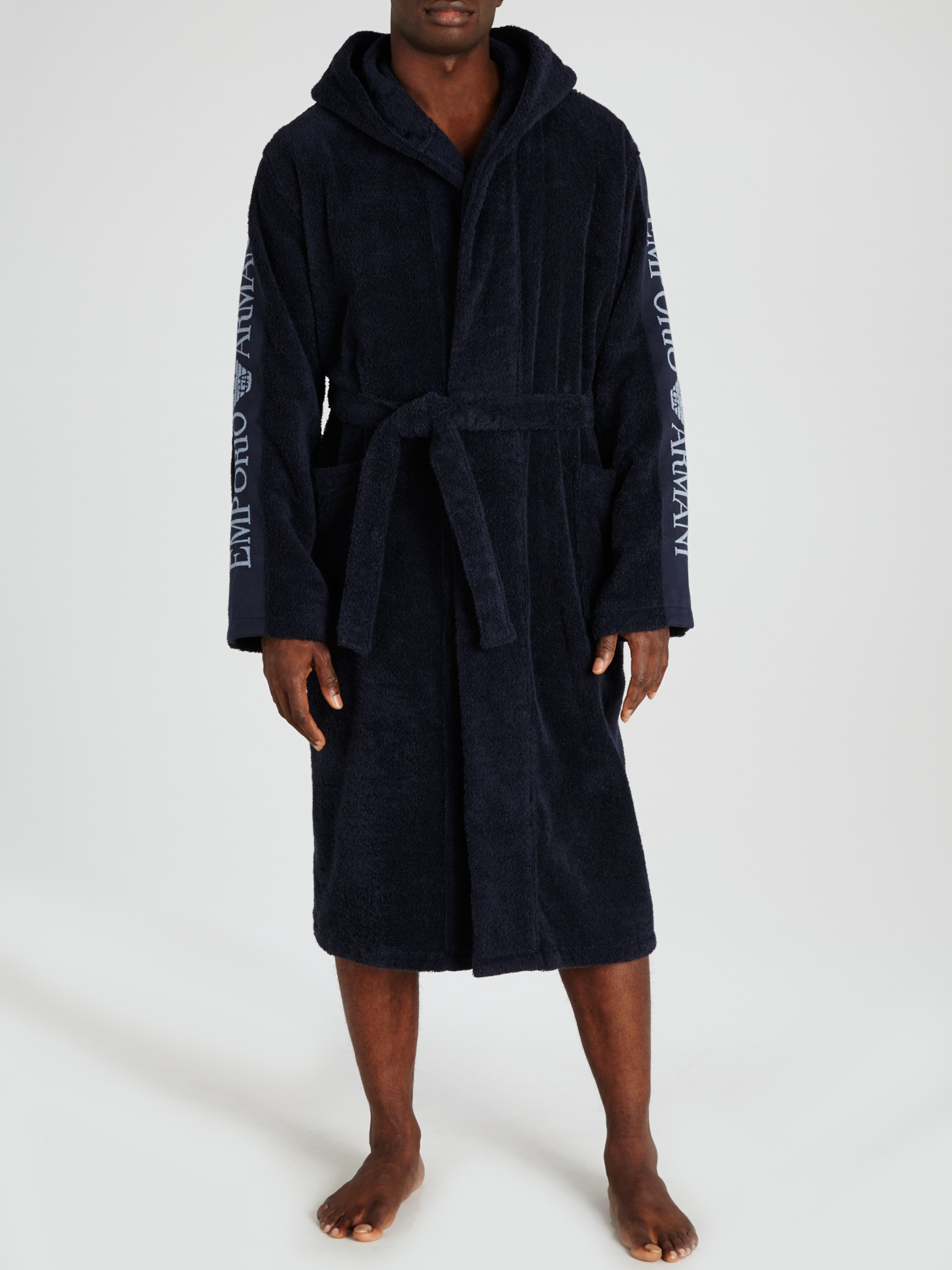 Emporio Armani Towel Robes in Blue for Men - Lyst 9ba624f84