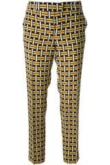Fendi Graphic Print Trouser - Lyst