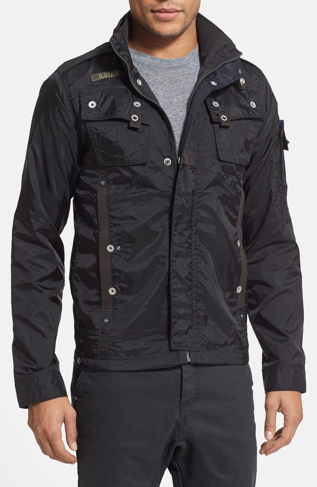 lyst g star raw recolite light weight military jacket in. Black Bedroom Furniture Sets. Home Design Ideas