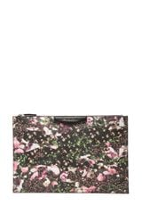 Givenchy Printed Canvas Antigona Pouch - Lyst
