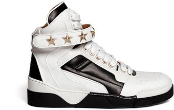Givenchy High-Top Star Stud Sneakers - Lyst