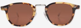 Illesteva Metal Bridge Tortoise Sunglasses - Lyst