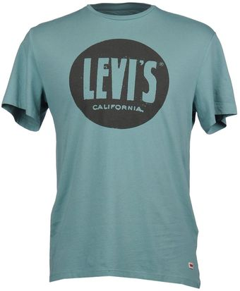 Levi's Short Sleeve T-shirt - Lyst