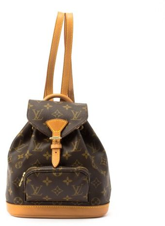 Louis Vuitton Brown Monogram Canvas Montsouris Pm Backpack - Lyst