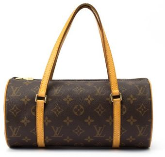 Louis Vuitton Brown Monogram Canvas Papillon Bag with Pouch - Lyst