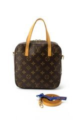 Louis Vuitton Canvas Spontini Convertible Bag - Lyst