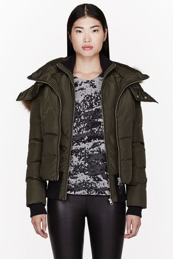 Mackage Black Down Layered Romane Jacket - Lyst