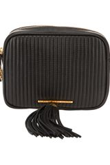 Marc By Marc Jacobs Mossheart Quilted Zwart Shoulder Bag - Lyst
