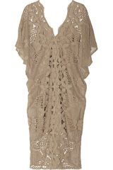 Miguelina Kate Crocheted Cotton lace Beach Dress - Lyst