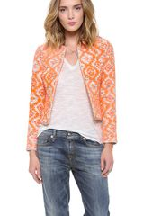 Nanette Lepore Great Plains Jacket - Lyst