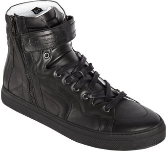 Pierre Hardy Side Zip Hightop - Lyst