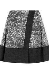 Proenza Schouler Pleated Tweed Skirt - Lyst