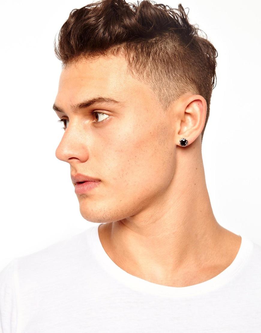 3dc9c3c8d97ebc Mens Silver Ball Stud Earrings - Best All Earring Photos Kamilmaciol.Com