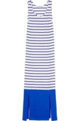 Richard Nicoll Stella Striped Silk Maxi Dress - Lyst