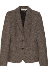 Stella McCartney Fellini Wool Blend Tweed Blazer - Lyst