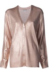 T By Alexander Wang Button Down Cardigan - Lyst