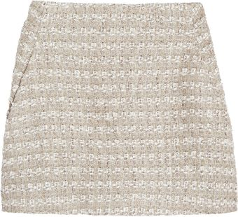 Theyskens' Theory Sonet Tweed Aline Mini Skirt - Lyst