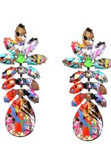 Tom Binns Riot Of Colour Earrings - Lyst