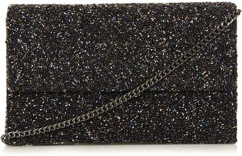 Topshop Embellished Clutch Bag - Lyst
