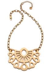 Tory Burch Madura Pendant Necklace - Lyst